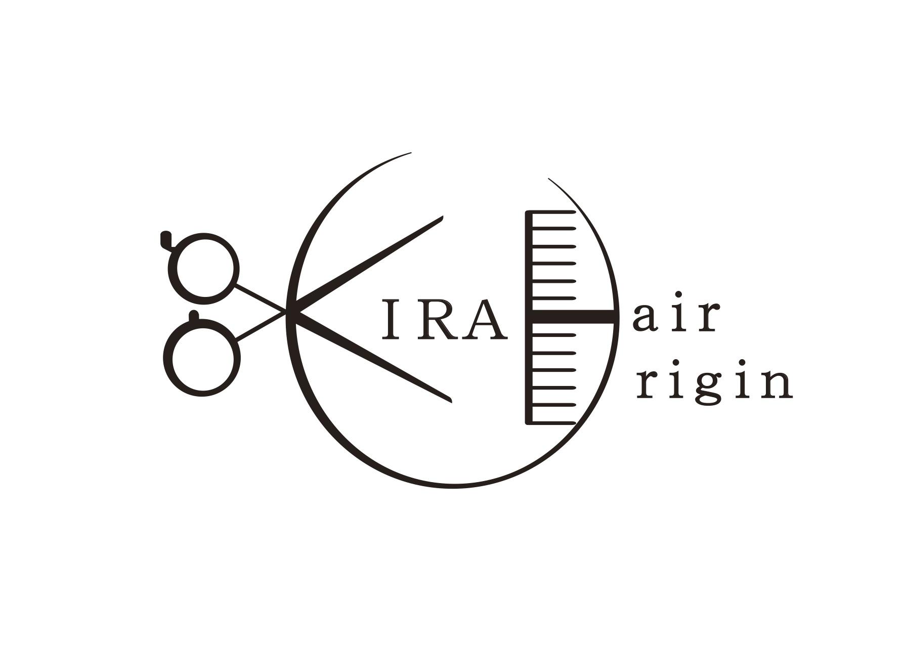KIRA hair origin ロゴ 2